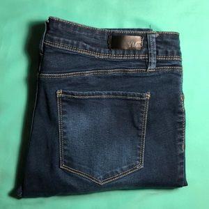 Dark Blue Midi YMI Jeans